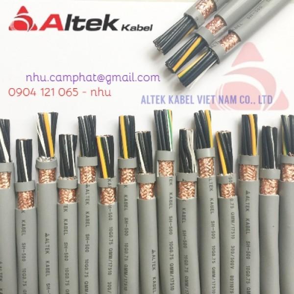 Cáp điều khiển Altek Kabel chất lượng chuẩn Châu Âu