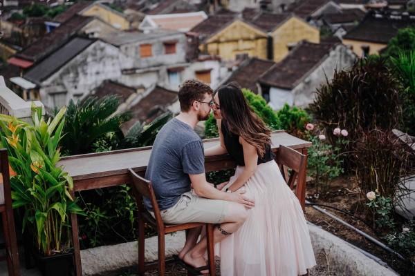 Cặp đôi Hồng Kong đến Hội An chụp ảnh