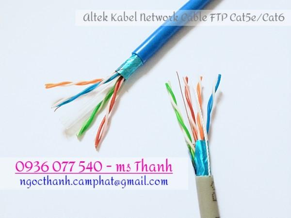 Cáp mạng chống nhiễu FTP6, Altek Kabel - Network cable 4 Pair 23 AWG, 305M/cuộn