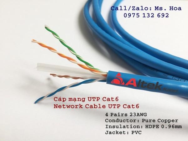 Cáp mạng UTP/FTP Cat5 Cat6 – Network Cable UTP/FTP Cat5 Cat6