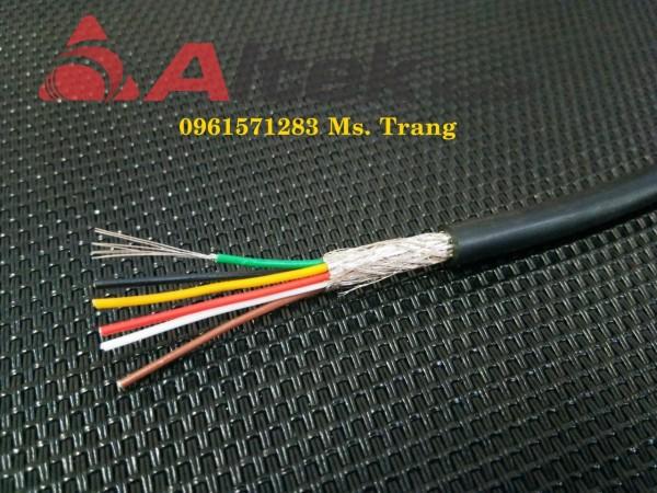 Cáp tín hiệu chống nhiễu 4x0.22, 6x0.22, 8x0.22 giá rẻ tại Hà Nội