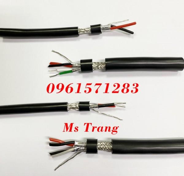 Cáp tín hiệu chống nhiễu rs485 Altek Kabel 2 lõi xoắn tiết diện 18awg