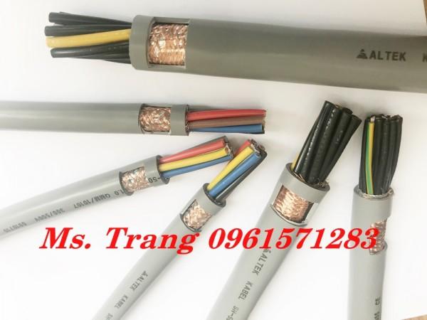 Cáp tín hiệu điều khiển 12x0.5 loại không chống nhiễu và có chống nhiễu