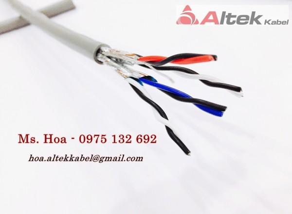 Cáp tín hiệu vặn xoắn Altek Kabel chống nhiễu AL foil giá rẻ