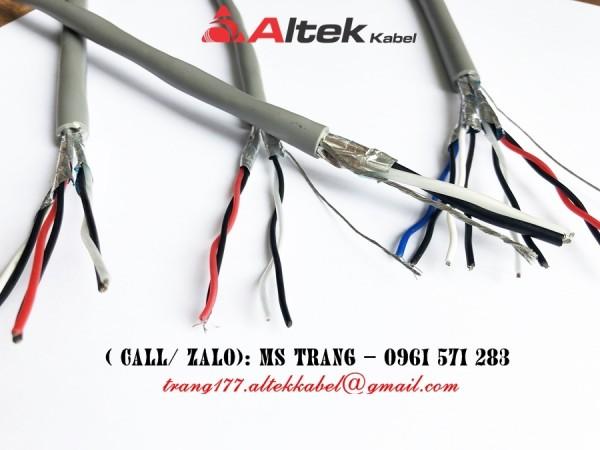 Cáp tín hiệu vặn xoắn chống nhiễu Altek Kabel hàng chính hãng giá tốt nhất