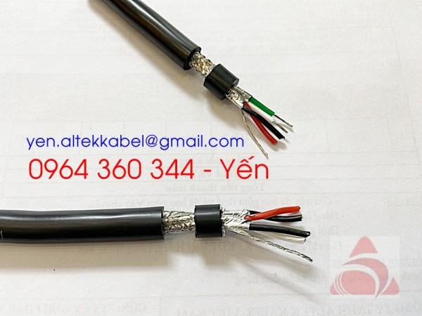 Cáp tín hiệu vặn xoắn RS485 Altek Kabel