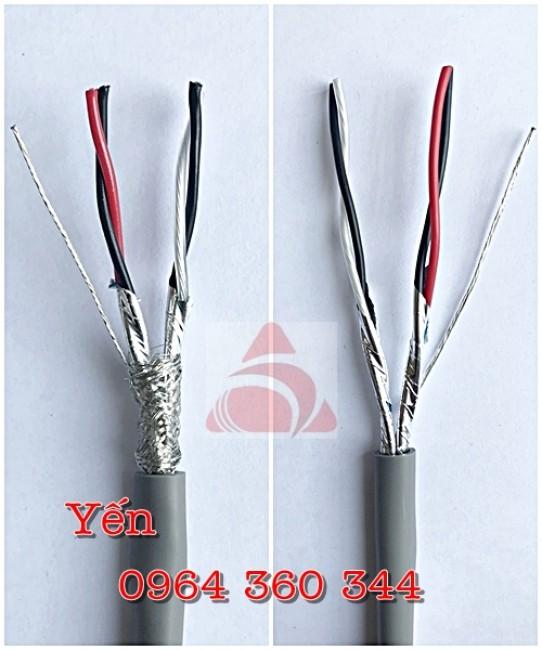 Cáp tín hiệu vặn xoắn Shield 20AWG 2Pair (2x2x0.5mm2) Altek Kabel