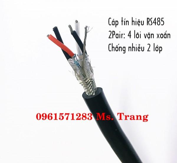 Cáp truyền thông vặn xoắn RS485 2x2x0.5- altek kabel