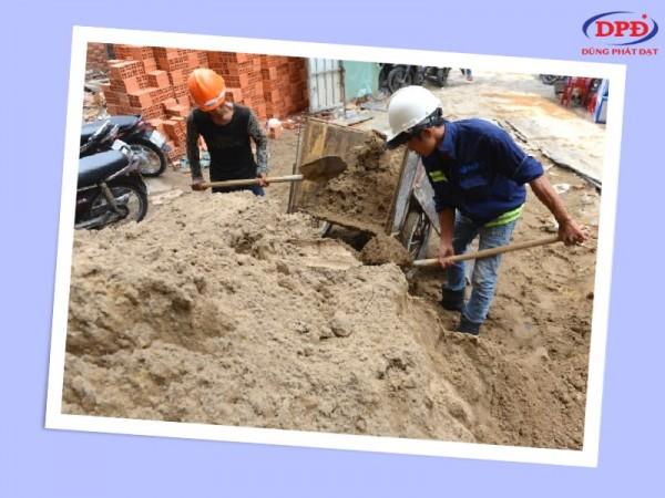 Cát xây tô là gì? Báo giá cát xây tô quận tân bình
