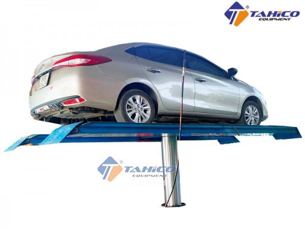 Cầu nâng 1 trụ rửa xe ô tô Ấn Độ SHARK lắp nổi