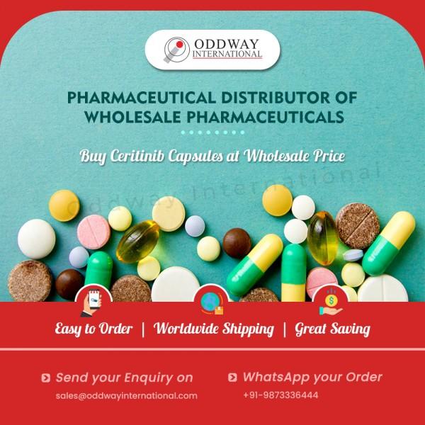 Ceritinib chung với số lượng lớn với giá thấp nhất từ nhà xuất khẩu thuốc - Oddway International