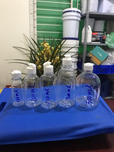 Chai lọ nhựa đựng dung dich 100ml, 200ml, 250ml, 300ml, 500ml Phú Hòa an