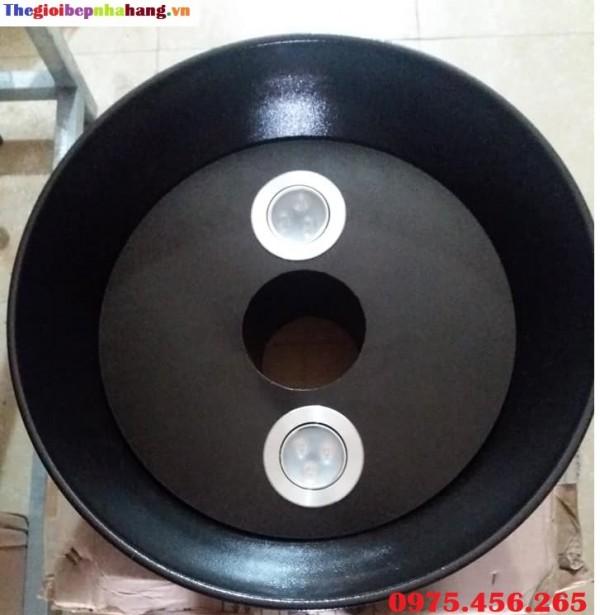 Chao đèn ống hút khói bếp nướng tại Lâm Đồng