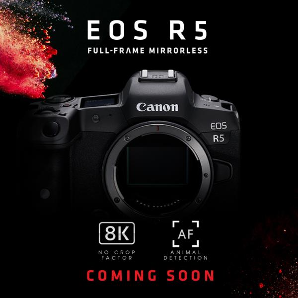 Chào đón siêu phẩm EOS R5 nhà Canon
