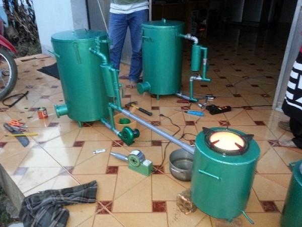 Chế tạo bếp không khói tro và muội than
