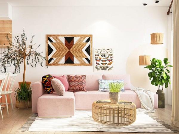 Chi tiết về những không gian căn hộ chung cư hiện đại
