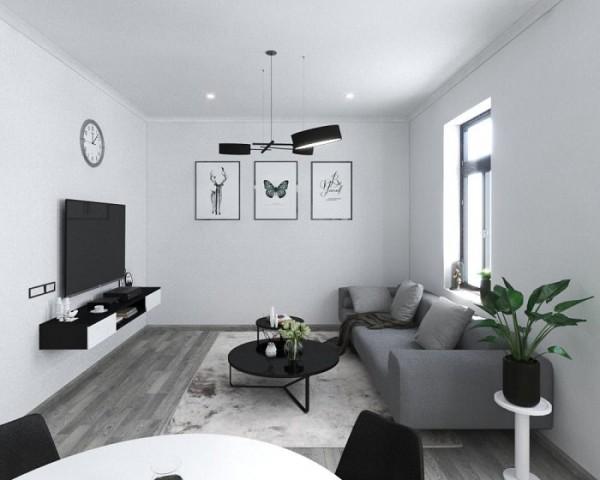 Chiêm ngưỡng không gian phòng khách cá tính và đặc biệt ấn tượng
