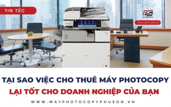 Cho thuê máy photocopy tận nơi