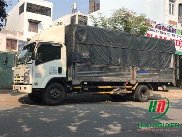 Cho thuê xe tải chở hàng tại tphcm - Vận tải hữu nguyên