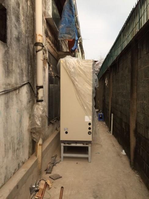 Chọn lắp máy lạnh giấu trần nối ống gió Daikin Packaged 20hp cho nhà xưởng tốt