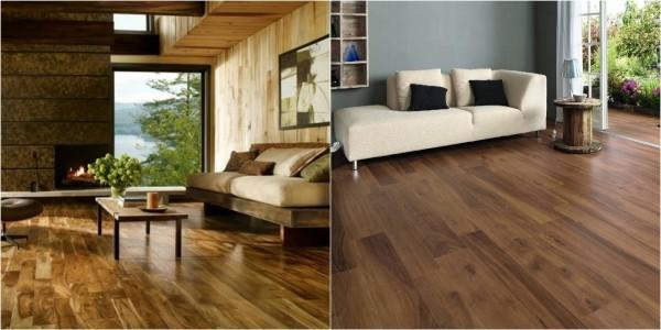 Chọn sàn gạch giả gỗ cho ngôi nhà của bạn