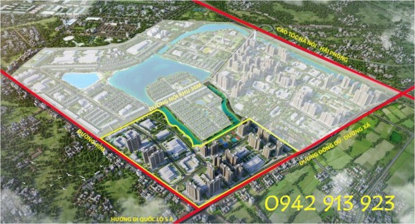 Chung cư Vinhomes Ocean Park Gia Lâm mở bán chính thức