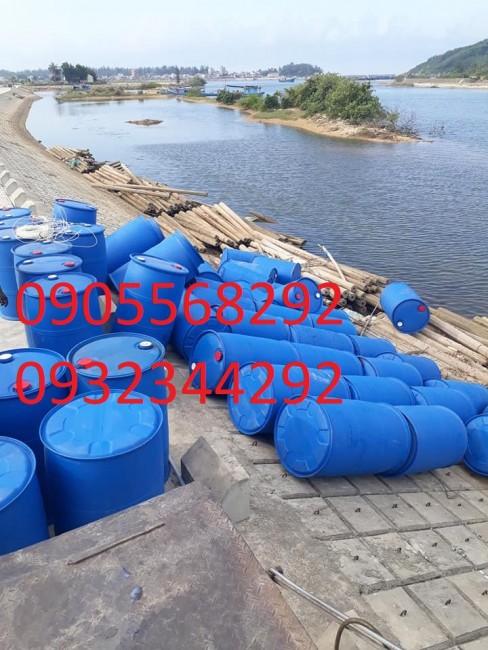 Chuyên cung cấp thùng phuy nhựa đã qua sử dụng giá rẻ 0905568292