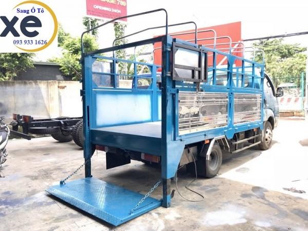 Chuyên lắp bửng nâng xe tải, bửng nâng hạ xe tải giá tốt