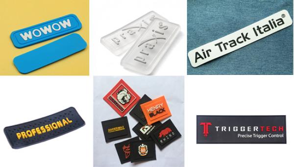 Chuyên sản xuất logo nhựa dẻo, tem nhãn silicone, nhãn may silicone, logo silicone, silicone patch
