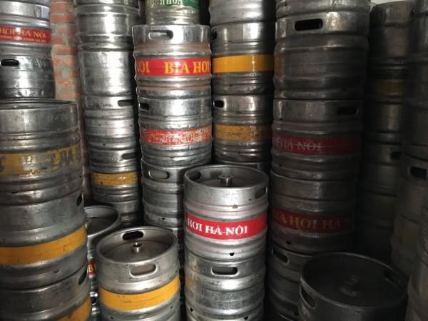 Chuyên thu mua bán các loại bom bia, vỏ bốc bia , keg bia đã qua sử dụng hoặc mới