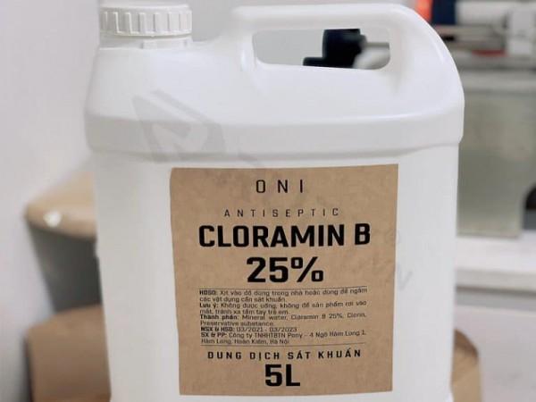 Cloramin B là gì? Cách pha và phun Cloramin B khử khuẩn bề mặt