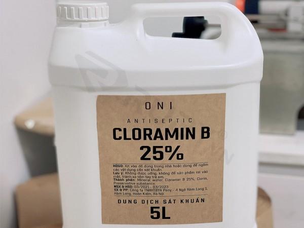 cloramin b là gì? Cloramin b có độc với người sử dụng không?