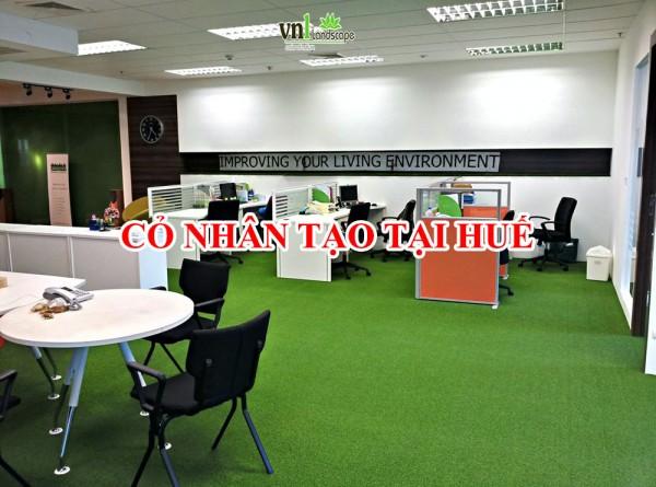 Cỏ nhân tạo văn phòng tại Huế