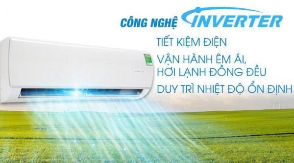 Công nghệ Inverter có khả năng tiết kiệm điện từ 30% - 50%