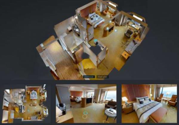 Công nghệ xem căn hộ mẫu, nhà mẫu tại nhà trong mùa Covid - 19