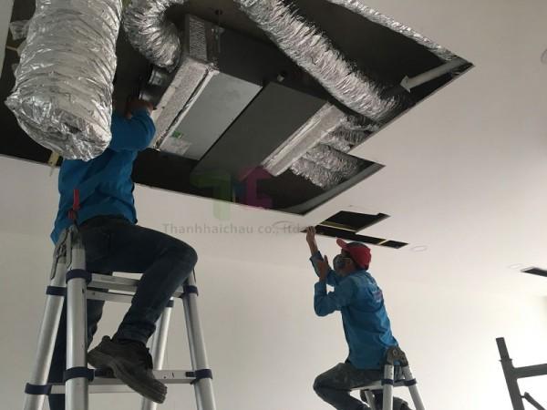 Công trình thi công máy lạnh giấu trần Daikin của Thanh Hải Châu