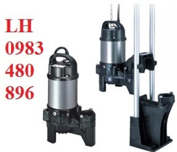 Công ty bán máy bơm nước thải Tsurumi 0,75kw họng xả 50 Call 0983.480.896