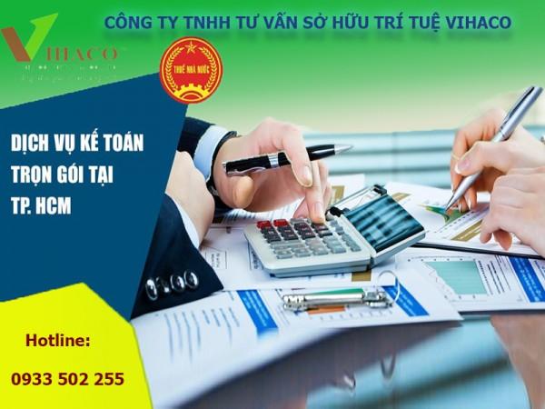 Công ty dịch vụ kế toán trọn gói uy tín nhất tại TP.Hồ Chí Minh