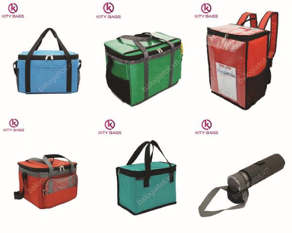 Công ty sản xuất túi giữ nhiệt KiTy Bags cung cấp Túi giao hàng, túi giữ nhiệt,...uy tín, đa dạng mẫu