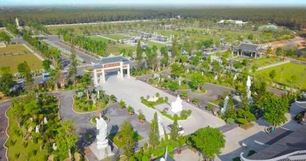 Công viên Vĩnh hằng Long Thành: Kiến trúc tâm linh đặc sắc miền cực lạc