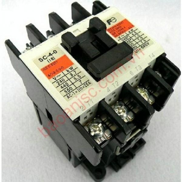 contactor (khởi động từ) fuji SC-4-1 AC220V