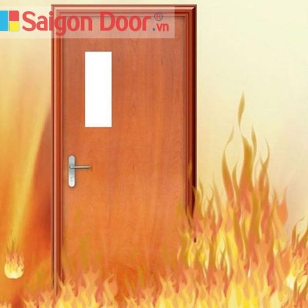 Cửa gỗ chống cháy có bao nhiều loại?
