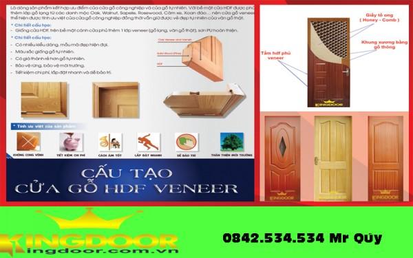 cửa gỗ công nghiệp HDF giá rẻ tại bình dương, đồng nai giá 1.990.000đ