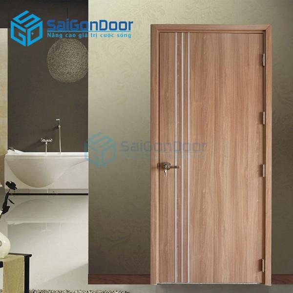 Cửa gỗ công nghiệp MDF Laminate MP1R3