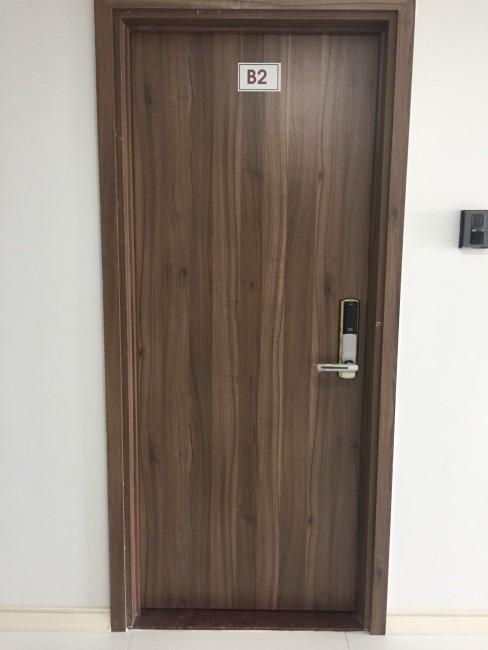 cửa gỗ công nghiệp mdf melamine tại thủ đức