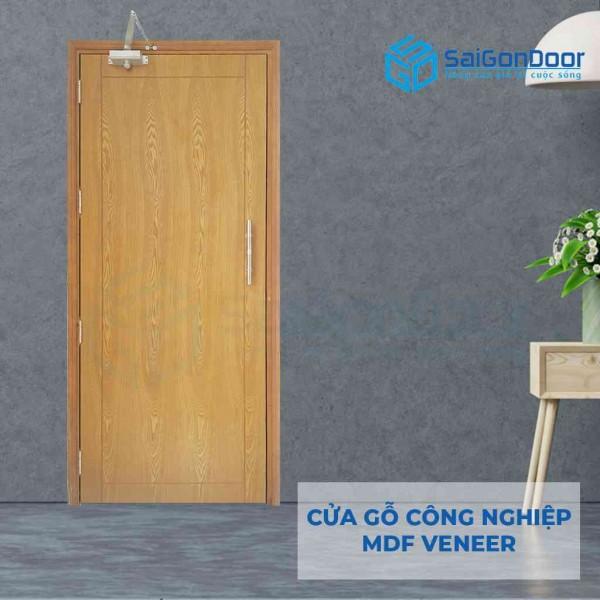 Cửa gỗ công nghiệp MDF P1