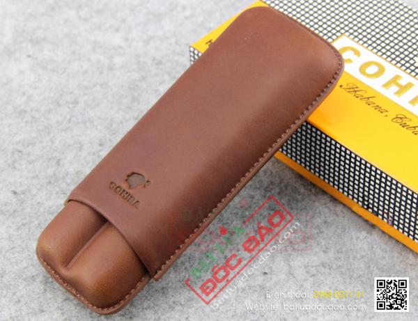 Cửa hàng bán bao da đựng cigar Cohiba tại Hà Nội? (2 điếu, 1202L)