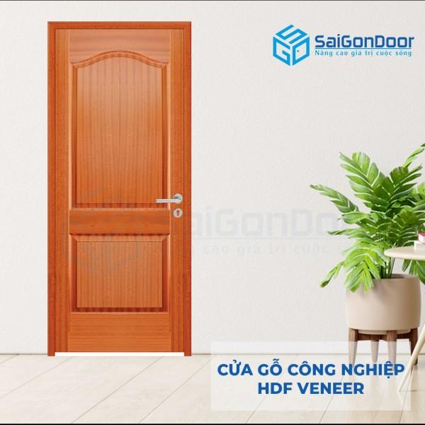 Cửa phòng ngủ gỗ công nghiệp 2A-Xoan Đào