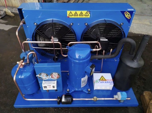 Cụm máy nén lạnh Danfoss 12 hp SM148T4VC được phân phối tại ANKACO
