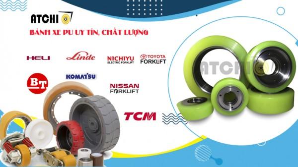 Cung cấp bánh xe nâng điện cao su duy nhất tại Việt Nam